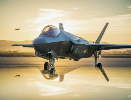 F-35 JOINT STRIKE FIGHTER PROGRAM PUTS THE HUNTER IN PRIME POSITION